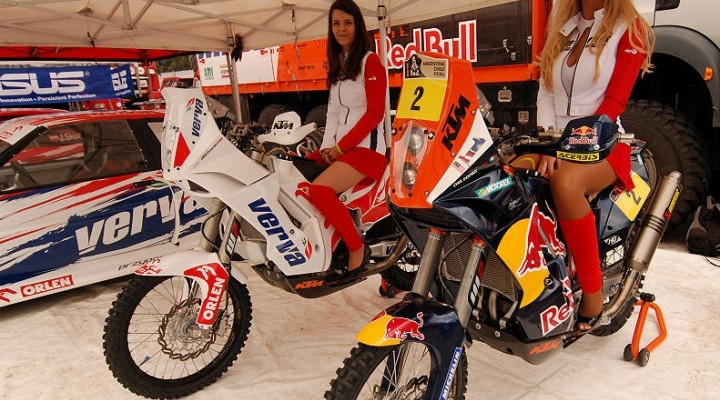 Motocykle Dakarowe z