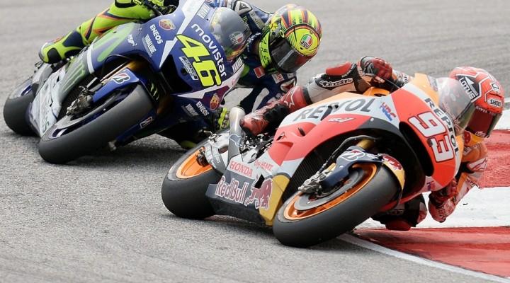 rossi vs marquez motogp sepang 2015 z
