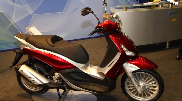 Piaggio classic Skutery Intermot 2011