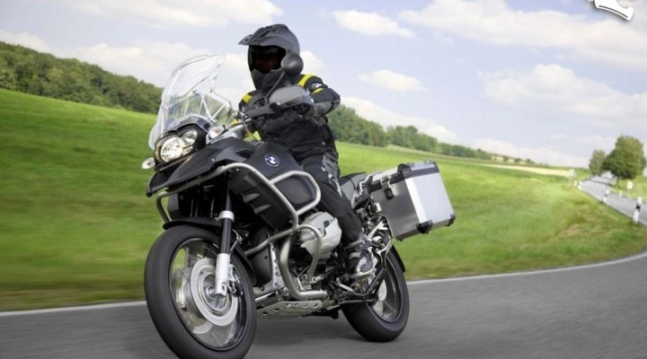 bmw r1200gs 2010 adventure na trasie