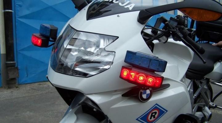 motocykl policyjny bmw