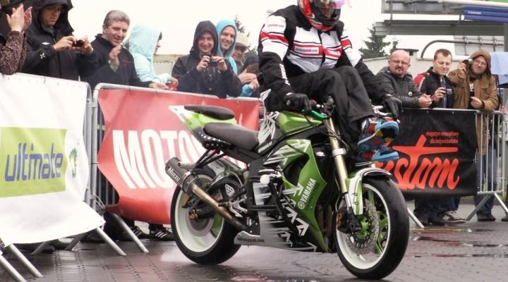 palenie gumy Lodz 2011 Motocyklowa Niedziela na BP