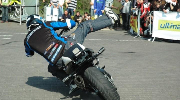 Power slide Motocyklowa niedziela BP Poznan