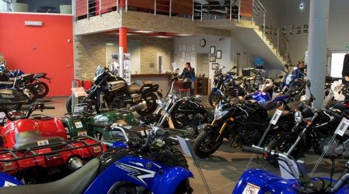 Salon Yamaha Moto Kom Cekanow z