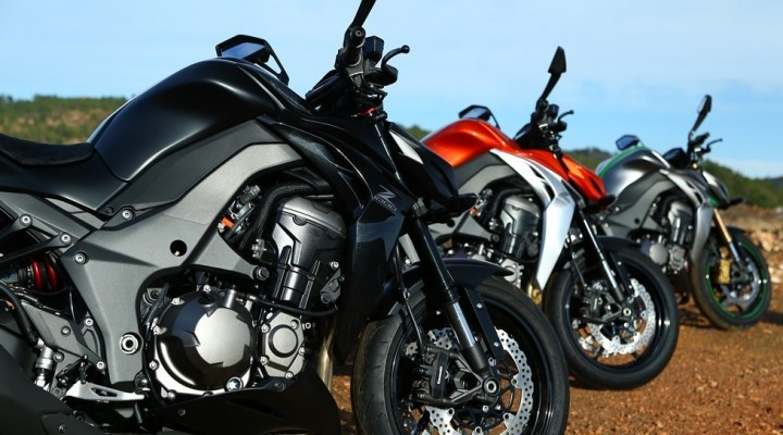 Kolory Kawasaki Z1000 MY 2014 z