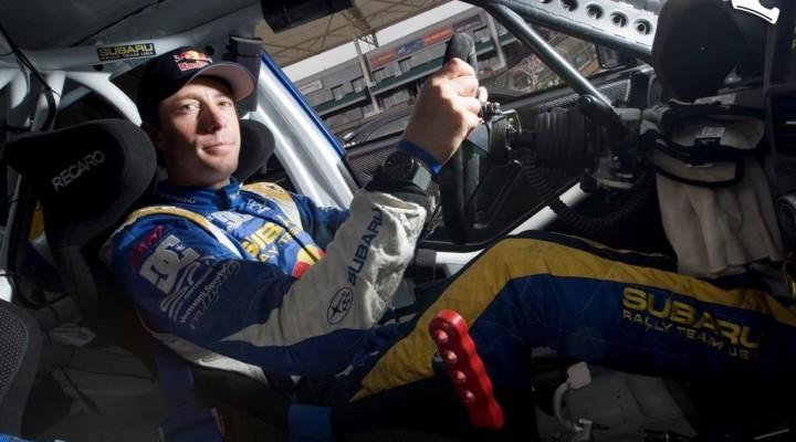 Travis Pastrana w Subaru Impreza