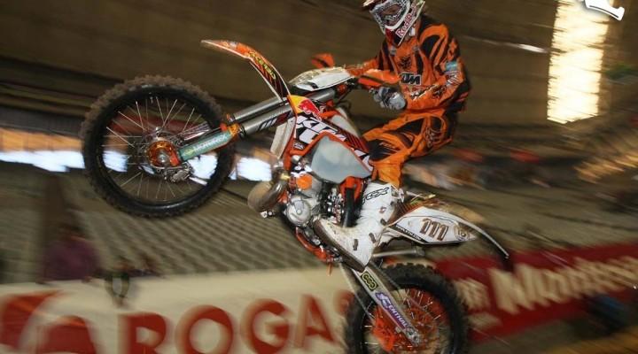 Taddy blazusiak Barcelona Indoor Enduro 2011