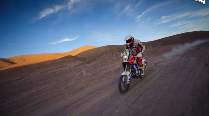 Kuba Przygonski trasa 7 etapu Dakar