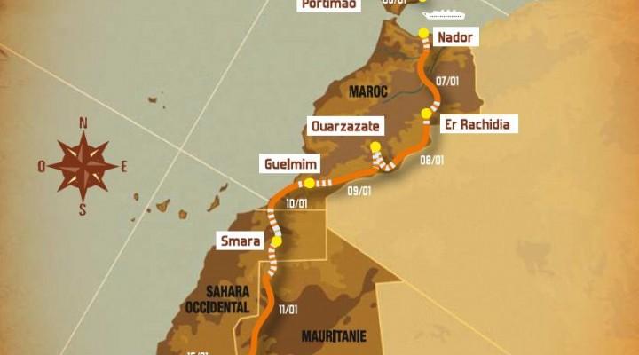 Rajd Dakar 2008