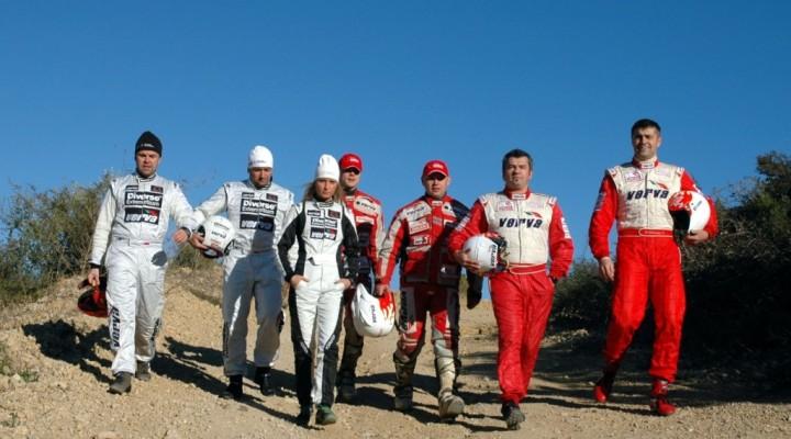 Reprezentanci Polski Dakar2008