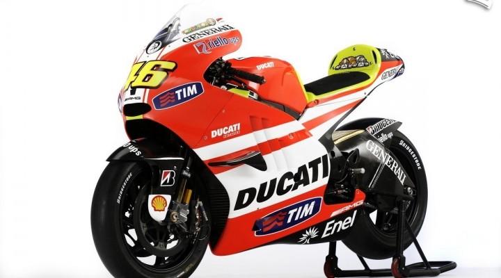 Hayden Rossi Ducati Desmosedici GP11 9