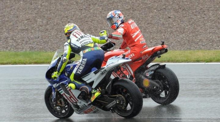 Stoner Rossi Sachsenring