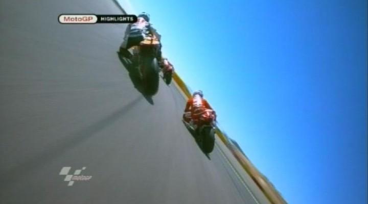 MotoGP prawie highside