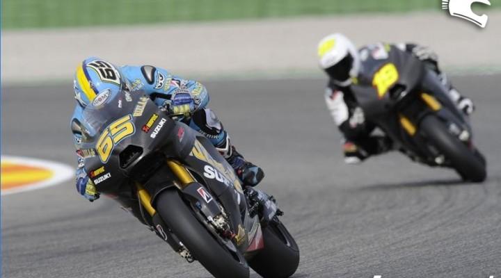 Zawodnicy Rizla Suzuki MotoGP