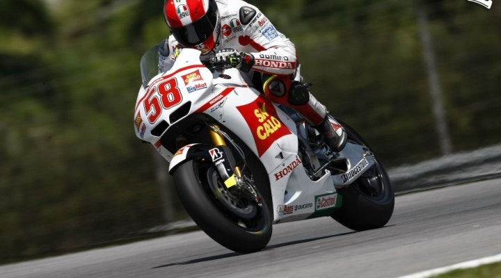 Marco Simoncelli Honda MotoGP Sepang testy