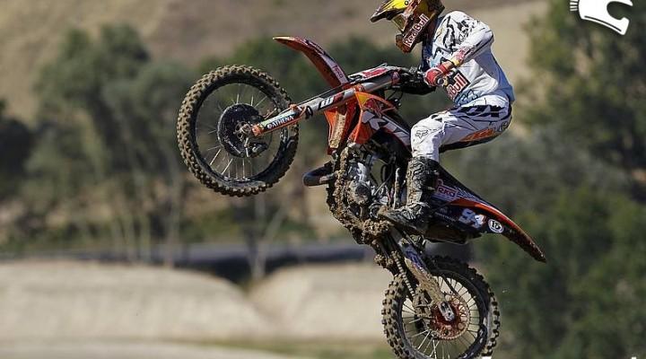 Ken Roczen SX 125 skok Fermo