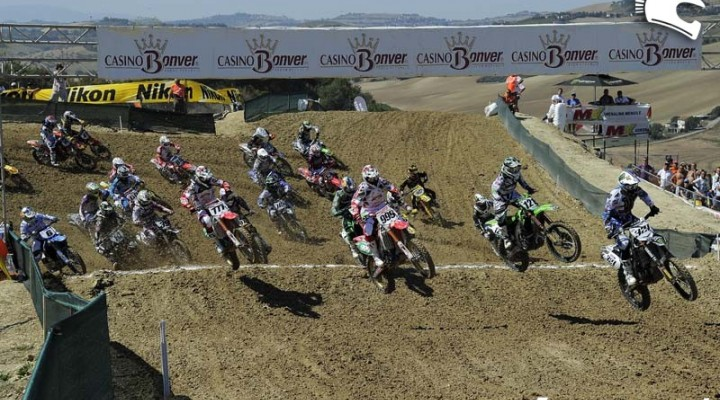 MX1 start Mistrzostwa Swiata Fermo