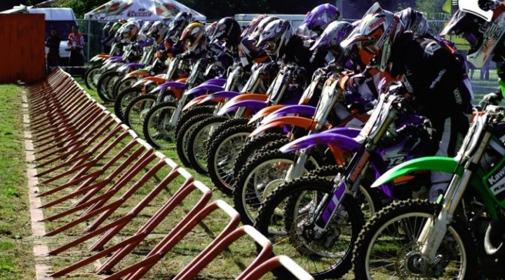 motocross start junior