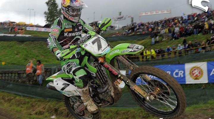 Barragan Mistrzostwa Swiata w Motocrossie Czechy