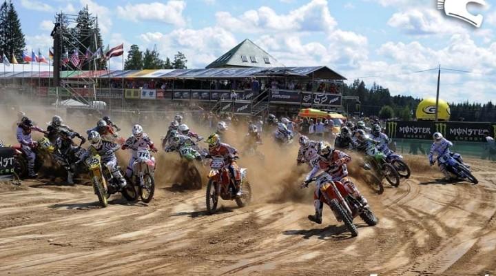 MX1 start Mistrzostwa Swiata Lotwa