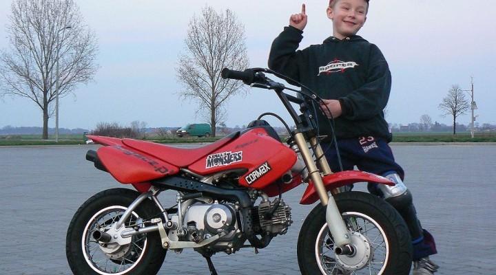 Eryk Niemczyk Motocykl