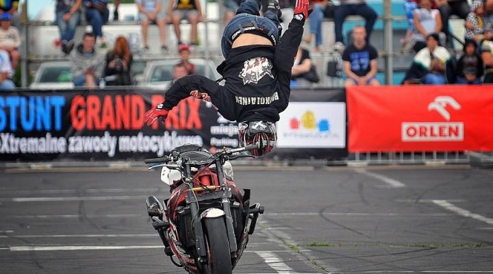 salto kwalifikacje World Stunt GP w Bydgoszczy z