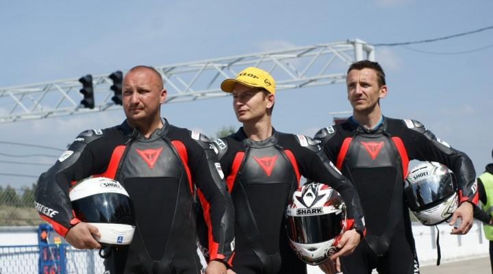 Grzegorz Lakomik Gwen Giabbiani Hubert Tomaszewski Auto Fus BMW Team