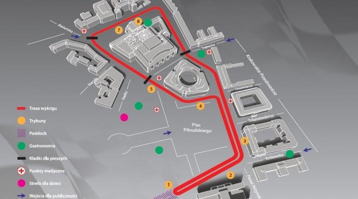 Mapa Verva Street Racing Warszawa 2010