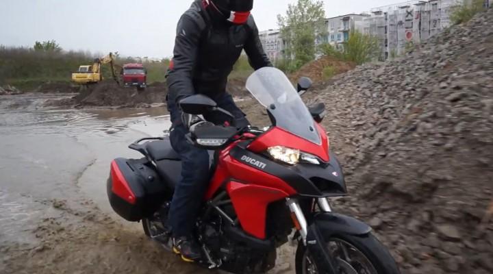 Ducati Multistrada 950 2017 w akcji z