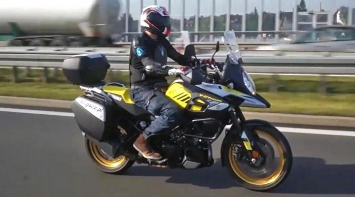 Suzuki V Strom 1000 2017 jazda z