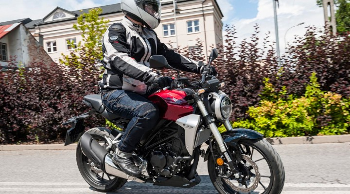 Honda CB300R 2018 test akcja z
