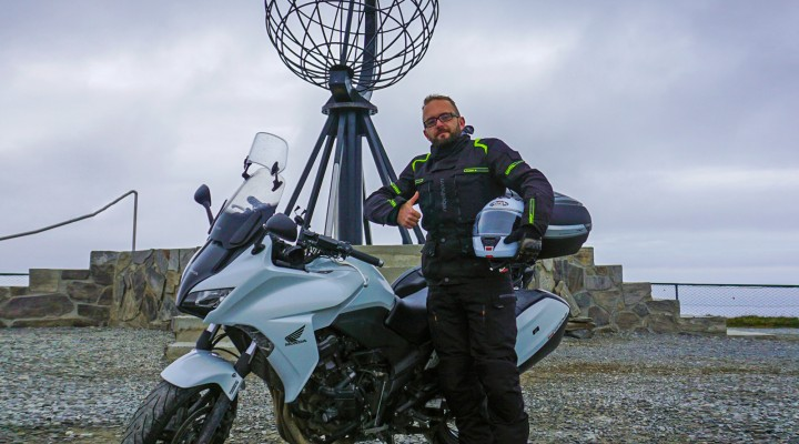 Norwegia i Finlandia na motocyklu 127 z