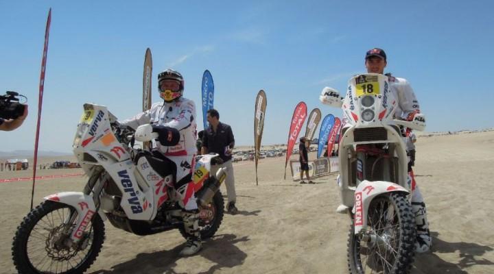 ORLEN Team Dakar 2013 I etap Lima Pisco z