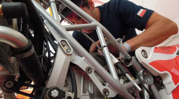 ORLEN Team Dakar 2013 serwis z