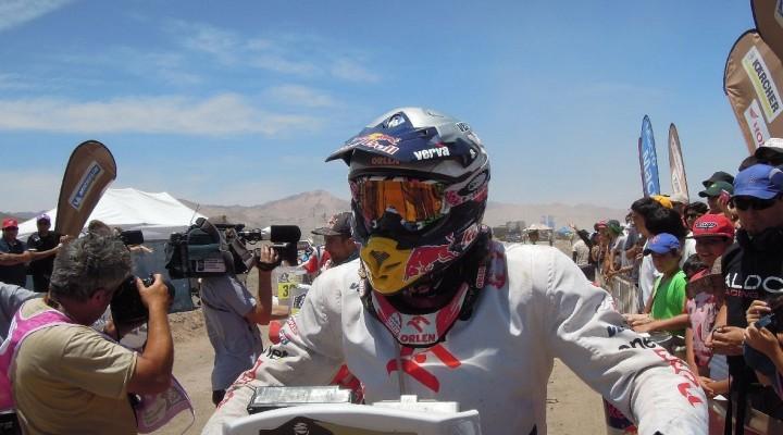Kuba Przygonski etap 12 Dakar 2013 z
