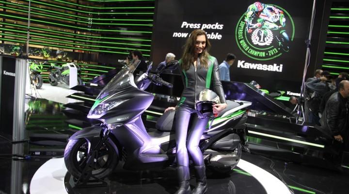 Kawasaki J300 2014 laska z