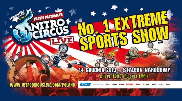 Nitro Circus Live Stadion Narodowy z