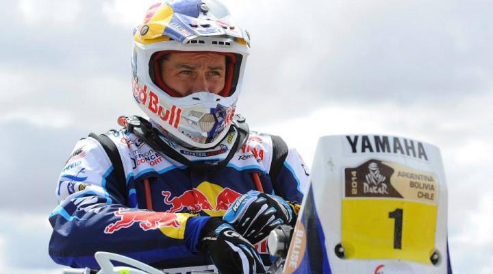 Dakar 2014 etap 8 Despres z