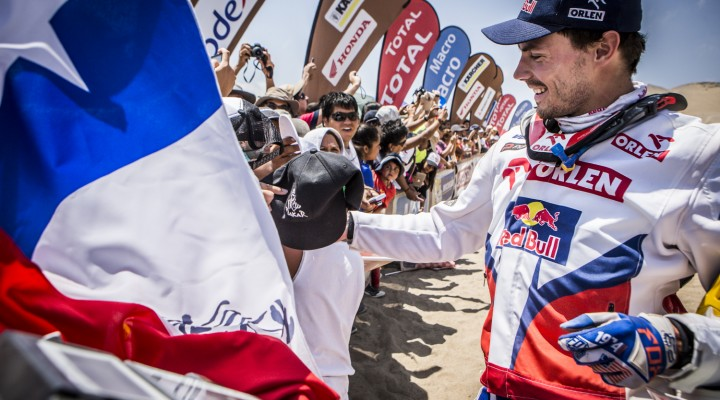 Przygonski Dakar 2014 etap 12  z