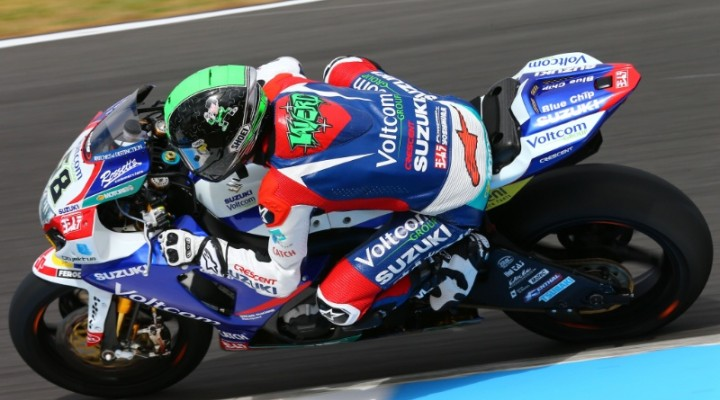 Eugene Laverty GSX R1000  z