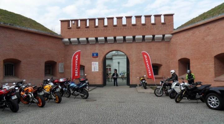 Wystawa motocykli Hondy z