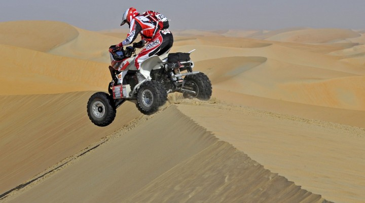 Rafal Sonik rajd Abu Dhabi z