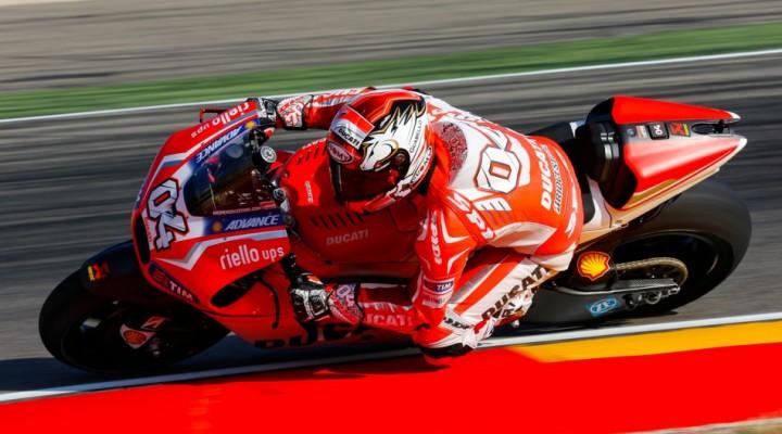 Andrea Dovizioso Motorland Aragon z