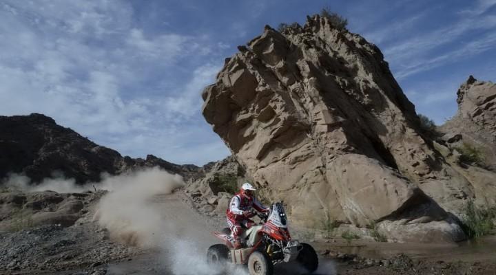 Rafal Sonik na Trasie Dakaru 2015 z