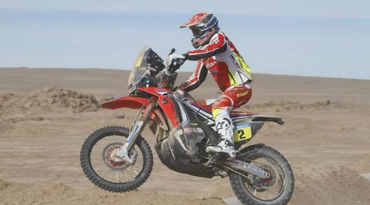 HRC Honda Dakar 2015 z