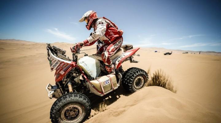 Sonik na wydmach Dakar 2015 z