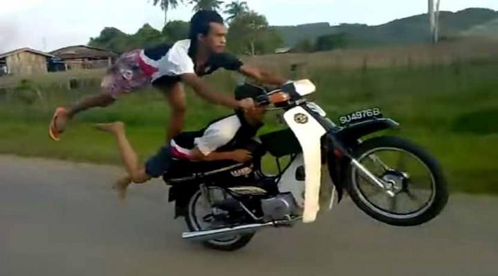 stunt ekstremalny z