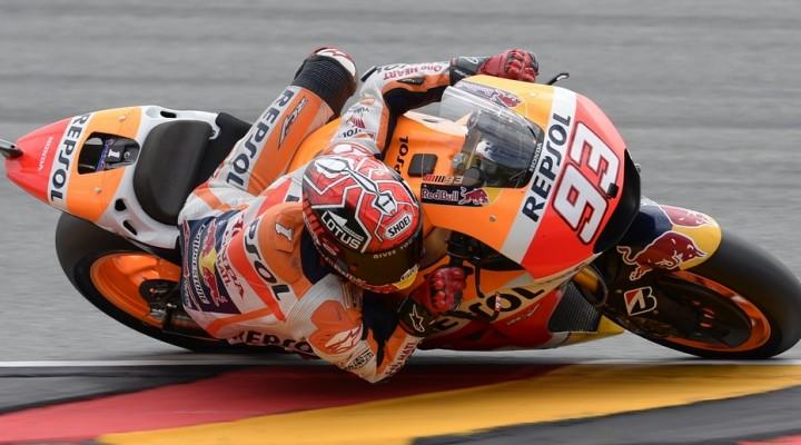 Marc Marquez Sachsenring  z
