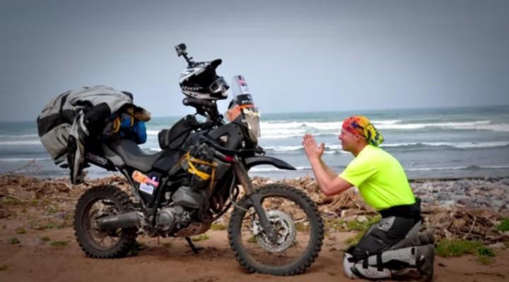Nad brzegiem morza Moroccooff 2015 z