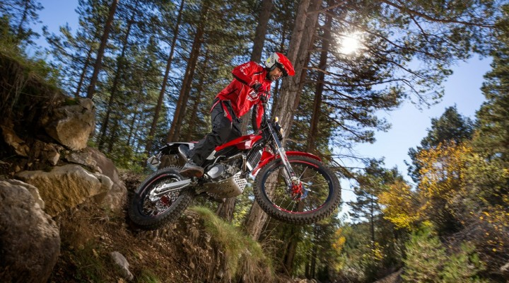 montesa 4ride trial skok z